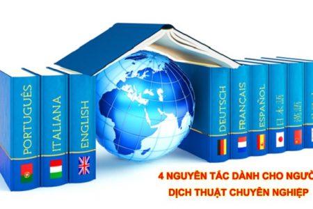 4 Nguyen Tac Dich Thuat Chuyen Nghiep