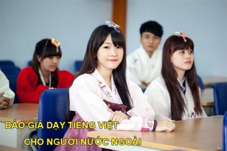 Bao Gia Day Tieng Viet Cho Nguoi Nuoc Ngoai