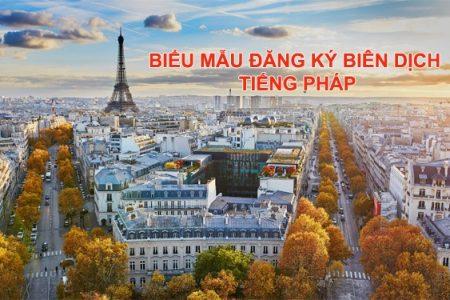 Bieu Mau Dang Ky Bien Dich Tieng Phap