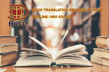 Book Translation Process At Haco