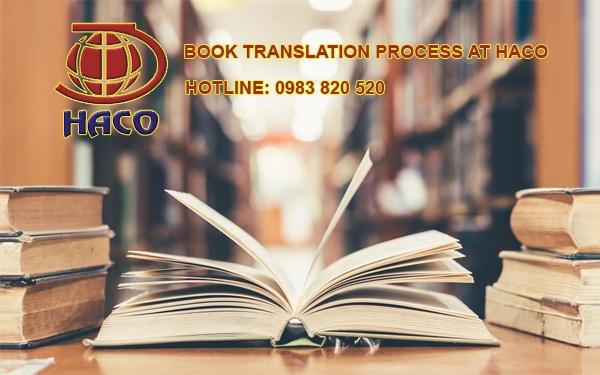 Book Translation Process At Haco