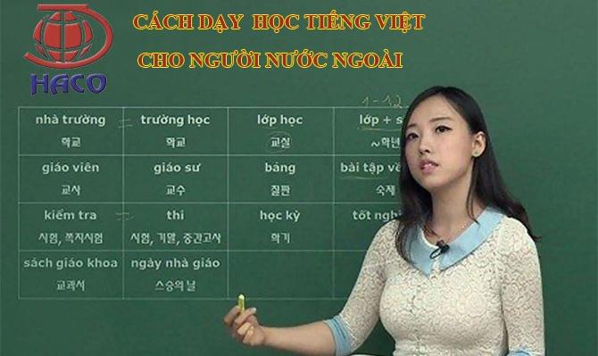 Cach Day Hoc Cho Nguoi Nuoc Ngoai