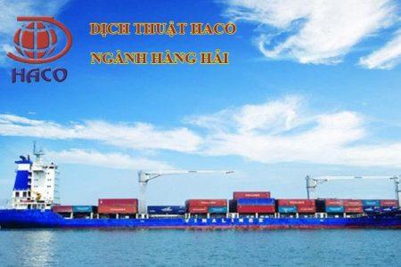 Dich Thuat Nganh Hang Hai