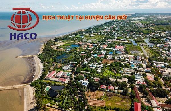 Dich Thuat Tai Huyen Can Gio