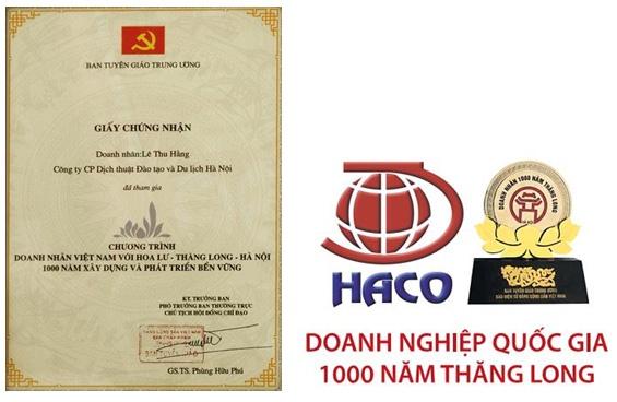 Haco Doanh Nghiep Quoc Gia
