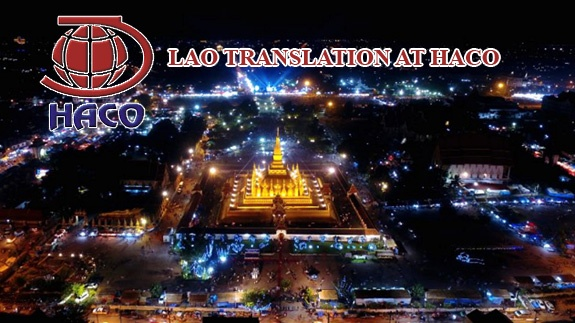 Lao Translation At Haco