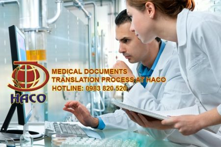 Medical Documents Translation Process At Haco