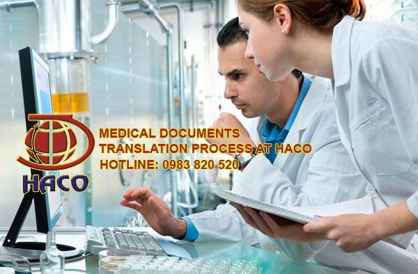 Medical Documents Translation Process At Haco