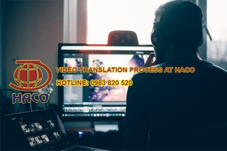Video Translation Process At Haco